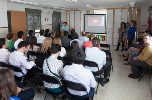 Fundación Mornese, Sevilla Obra social, visita de empleados