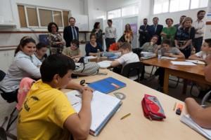 Fundación Mornese, SevillaObra social, visita de empleados
