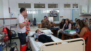 Visita Cruz Roja