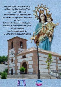 Cartel Eucaristía María Auxiliadora Jun