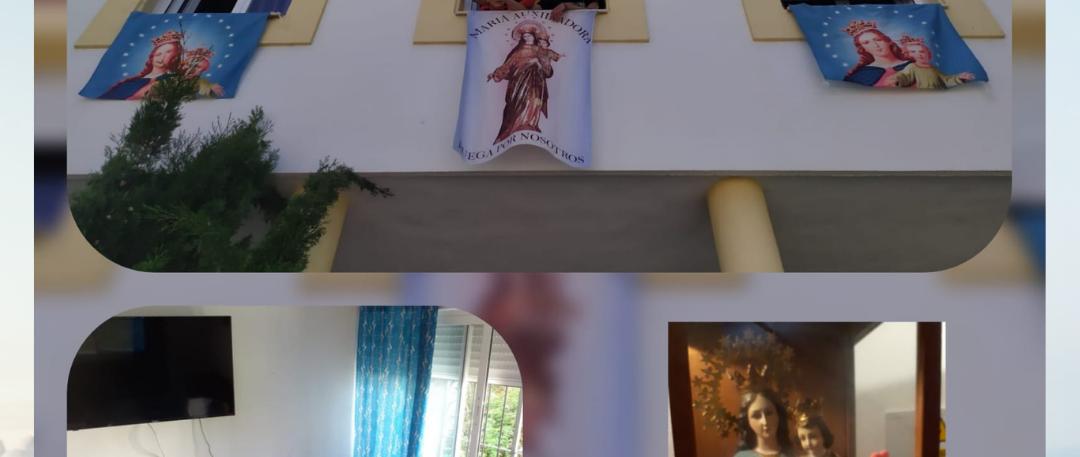 ¡MARÍA AUXILIADORA EN FUNDACIÓN MORNESE!